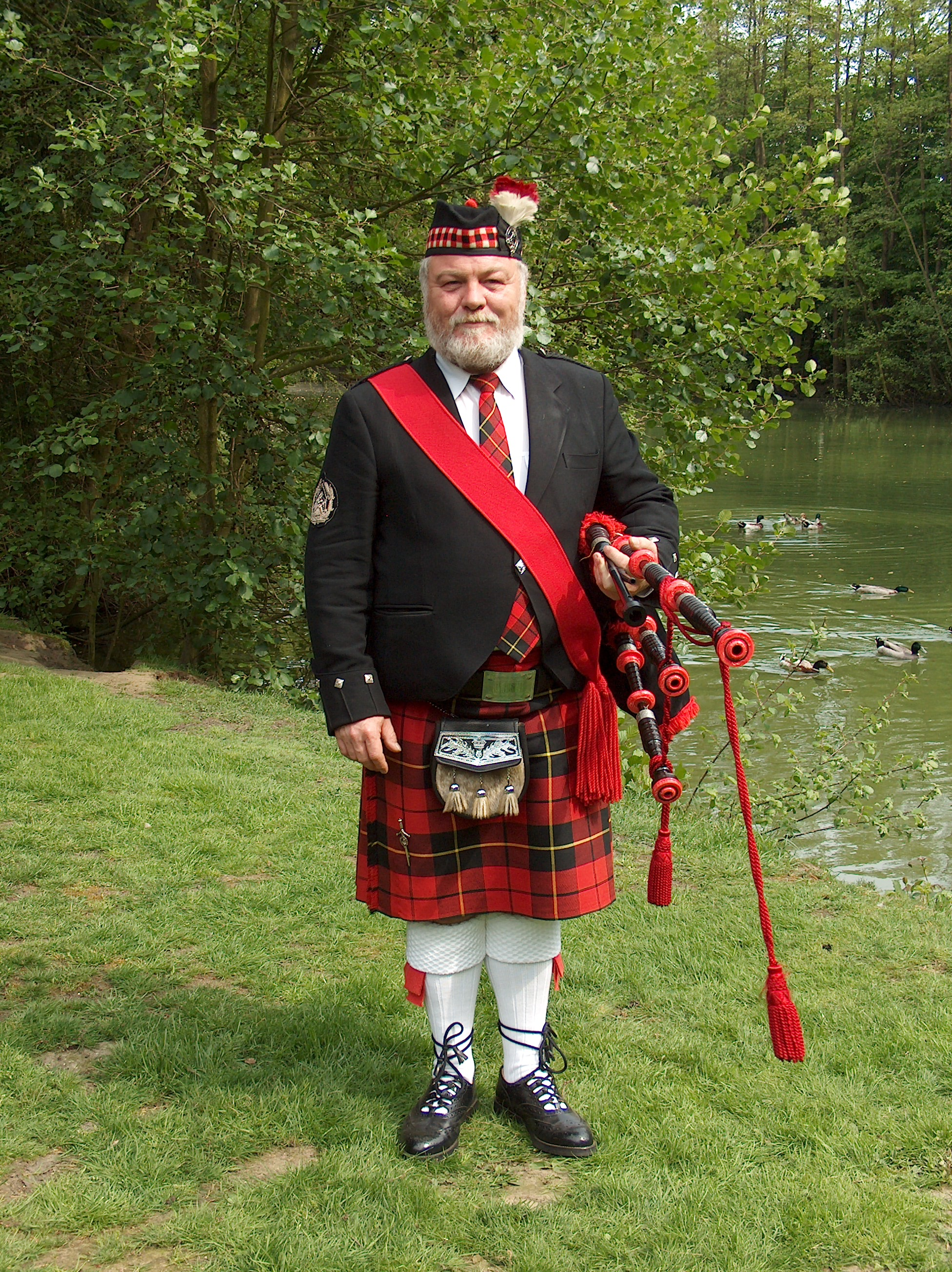 Pipe Major Johnny Noels